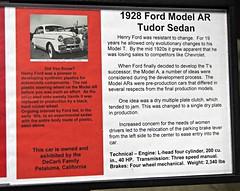 1928 Ford Model AR Tudor Sedan (pre-production) Info