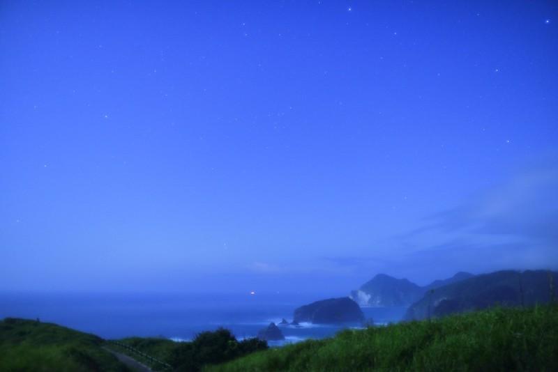 奥石廊崎の星空