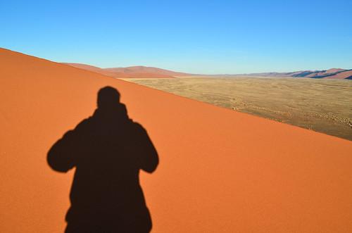 Dune 45 (Sossusvlei) au lever du soleil