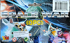 Space War plastic figures 08