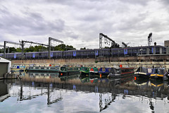 Boats and a Train