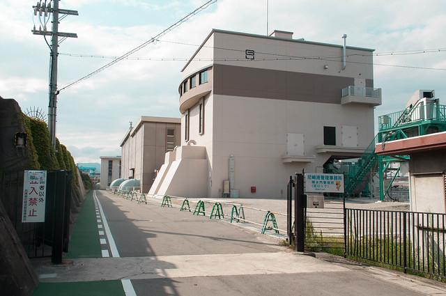 amagasaki lock gate (尼崎閘門)