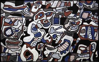 Mécanique musique - Jean Dubuffet, 6 février 1966