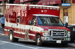 San Francisco FD - Ford E450 Medic 77