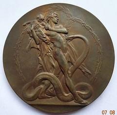 Sweden Carnegie Hero medal reverse