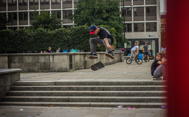 Josh Mayson - Kickflip - London