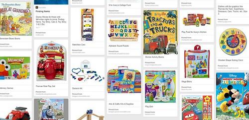 Pinterest Third Birthday Wish List
