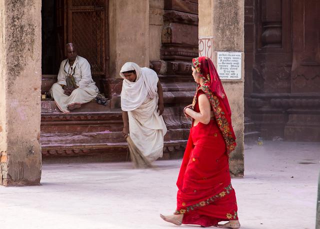 Descripencies of life ... in the land of Krishna