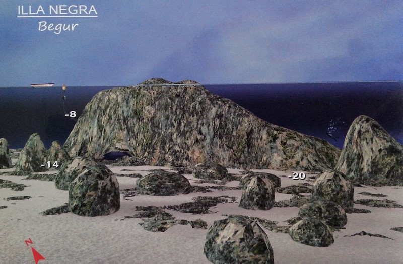 Plongée Illa Negra begur