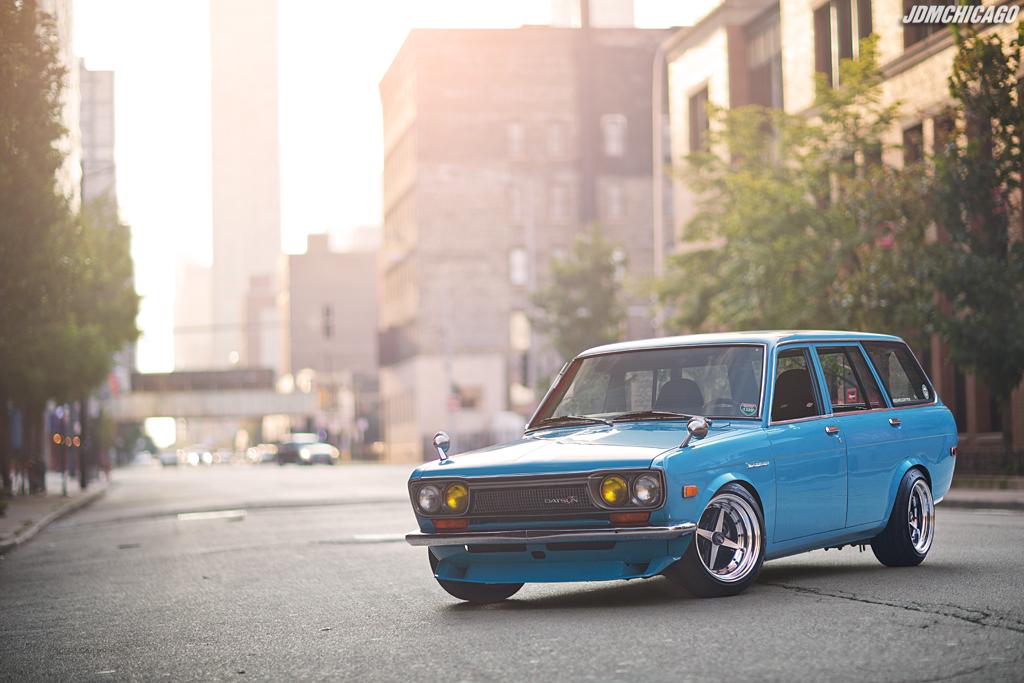 family photo color ideas for summer - Luis' 1971 Datsun 510 Wagon