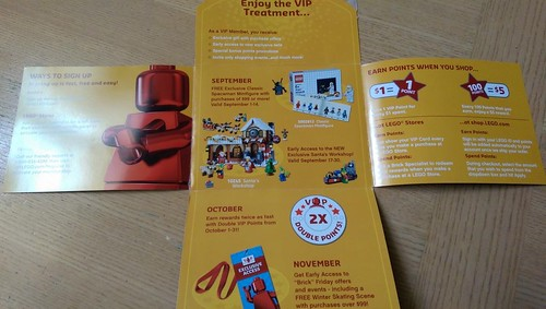 LEGO VIP Promotions 2014