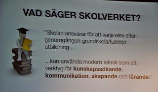 """Patricia Diaz föreläste i Simrishamn på skolpersonalens Kickoff """"Hjärnan vill ha KUL!"""", 11 aug 2014"""