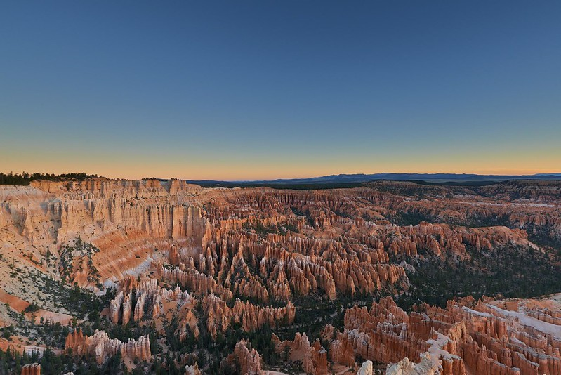 Dawn in the Amphitheater - Bryce Canyon National Park