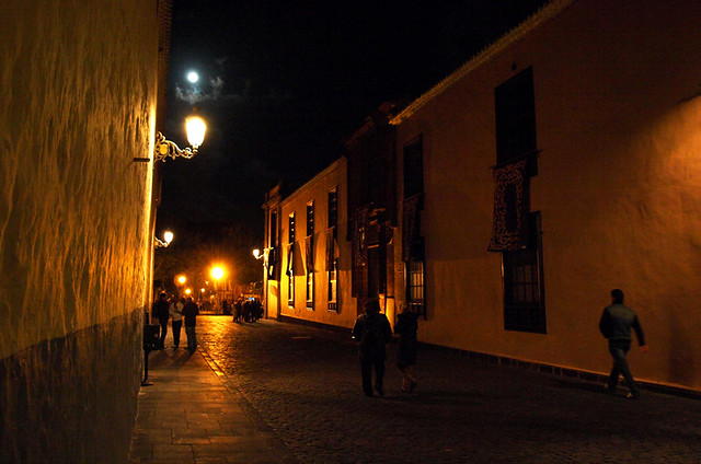 La Laguna at Night, Tenerife
