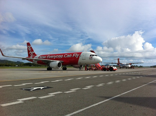 Air Asia A320 in Langkawi