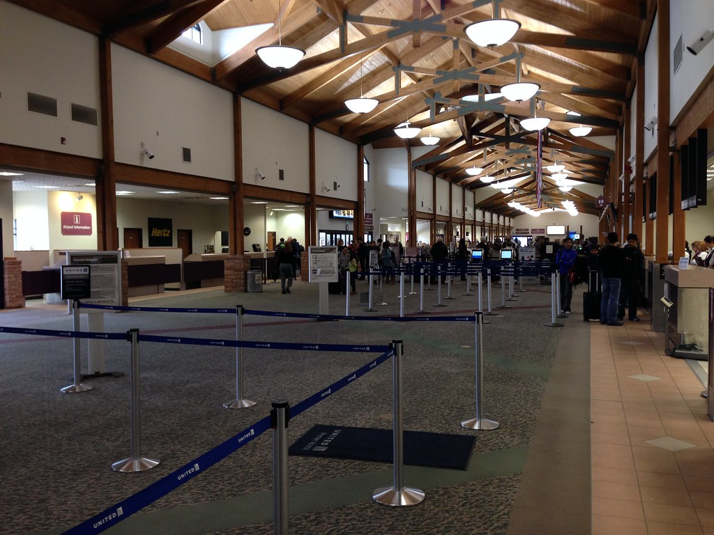 Eagle County Airport Departures Hall
