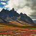 Incoming Storm over Tombstone Mountain by aribix