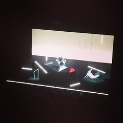Tremenda puesta en escena tiene #TheOldWoman con #WilliemDafoe y  #MikhailBaryshnikov impresionante!!!