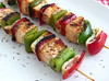 Salmon and squids kebabs - Food From Portugal