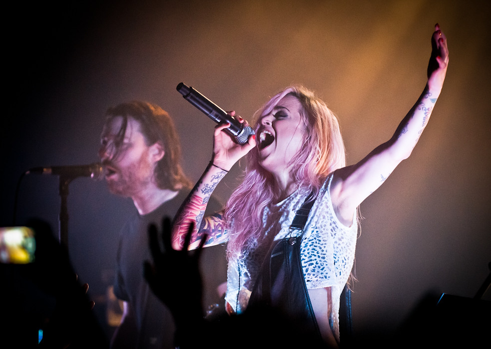Shiny Toy Guns' Chad Petree and Carah Faye Charnow