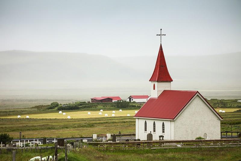 Small church at Reynisfjara