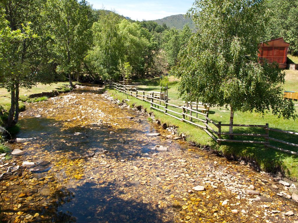 Río Jarama cerca de La Hiruela