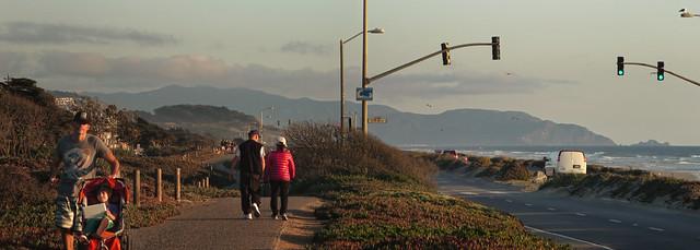 Great Highway, Ocean Beach, San Francisco (2014)