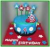 Kue ulang tahun captain america
