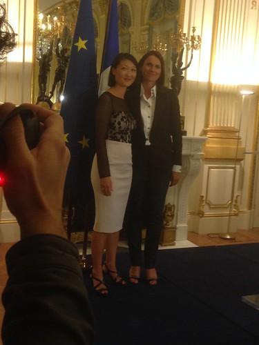 Passation de pouvoirs entre Aurélie Filippetti et Fleur Pellerin - Ministère de la Culture
