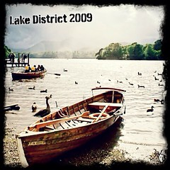 Lake District - UK #LakeDistrict #Landscape #Lovely #waters #boat #pickup #brown #wood #rowing #greens #England #travel #documentary