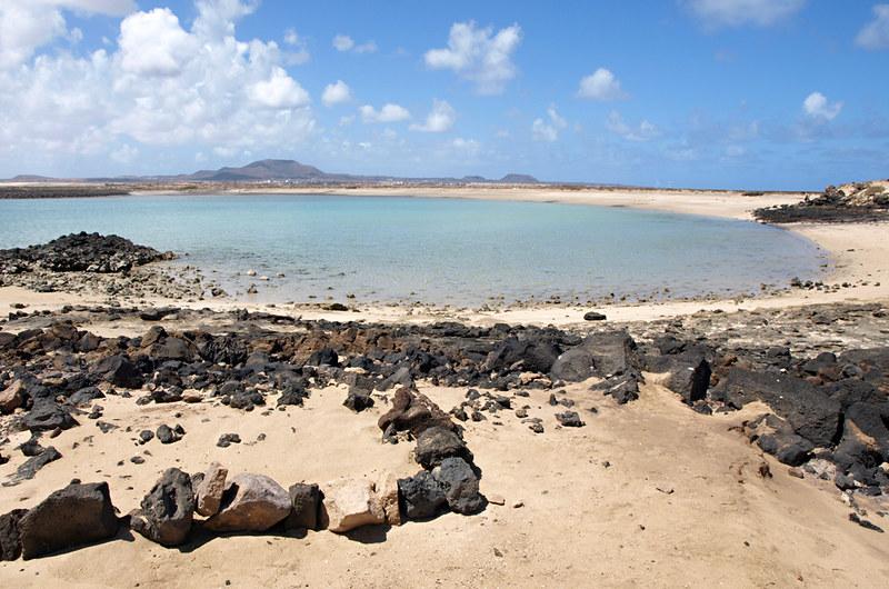 Lagoon, Isla de Lobos, Fuerteventura