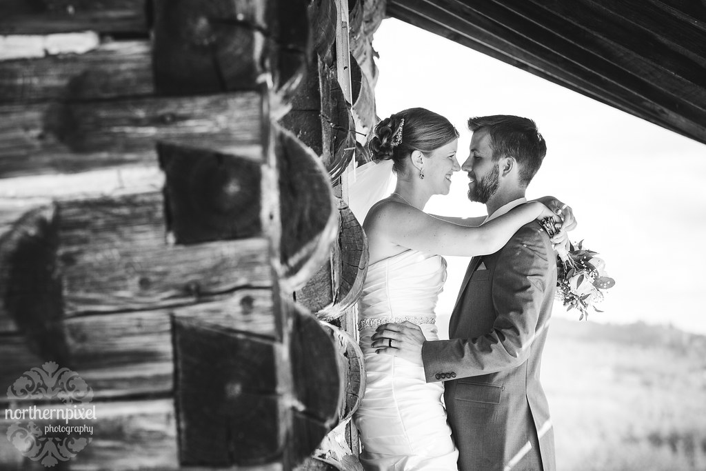 Wedding Photos at the old homestead - Smithers BC
