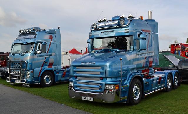 Longthorne - Volvo FH16 Globetrotter XL 660 & Scania T580 V8 Highline
