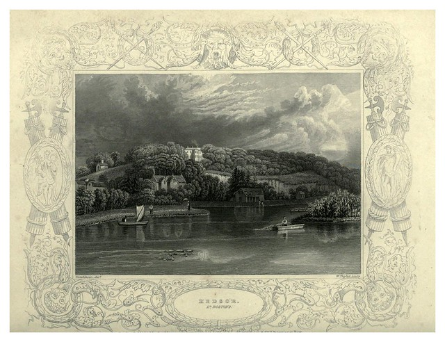 006- Mansion Hedsor-The Thames and Medway…W.G. Fearnside