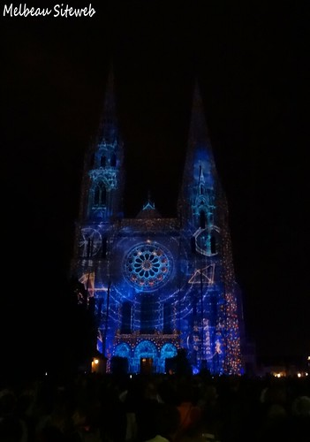 Chartres : Fête de la lumière 2014
