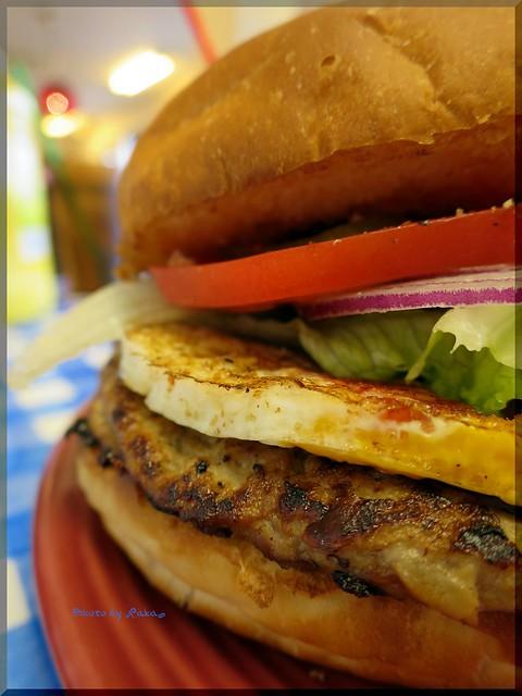 Photo:2014-06-22_ハンバーガーログブック_【宮崎】【都筑】K&E DINER(K&Dダイナー)Mike Burgerとは?ベーコン、チーズ、エッグがなんと!_06 By:logtaka
