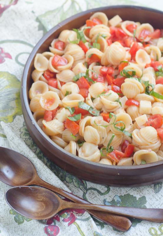 Summer Caprese Pasta