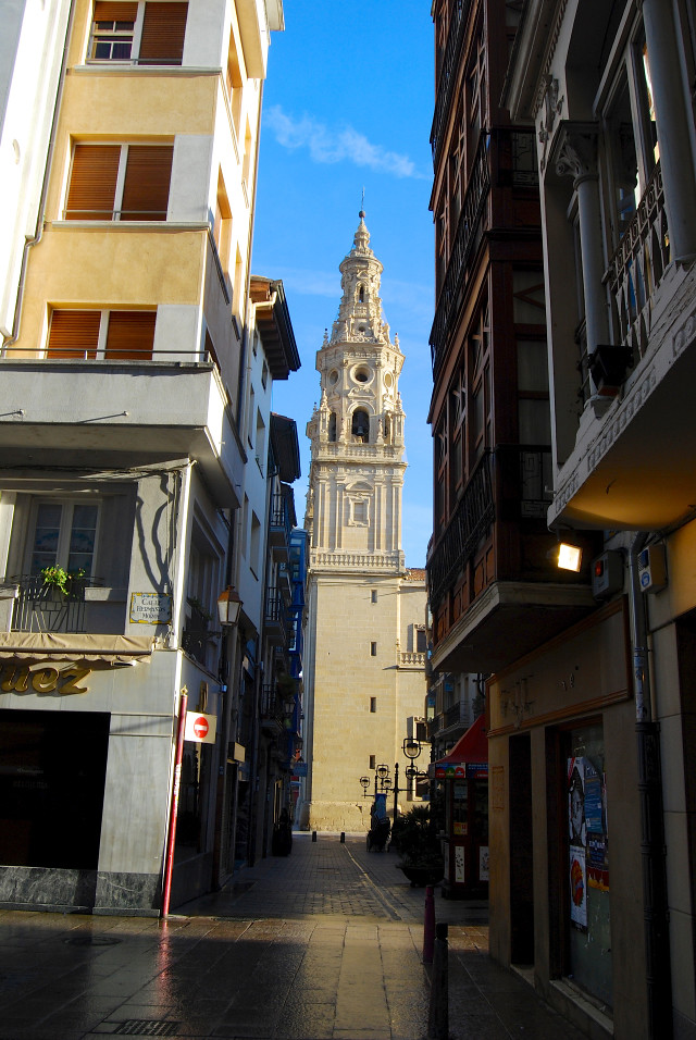 Church in Logroño City, Rioja