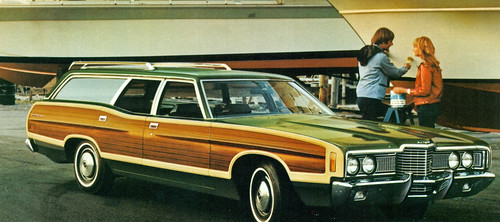 When we decided to move to a larger, family-truckster, I had my heart set  on a Ford Flex. Wife was