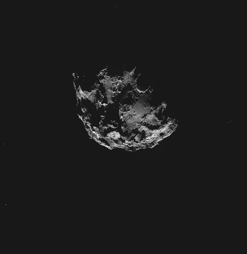 ESA Rosetta: 67P 7 settembre NavCam ripresa da 51 km