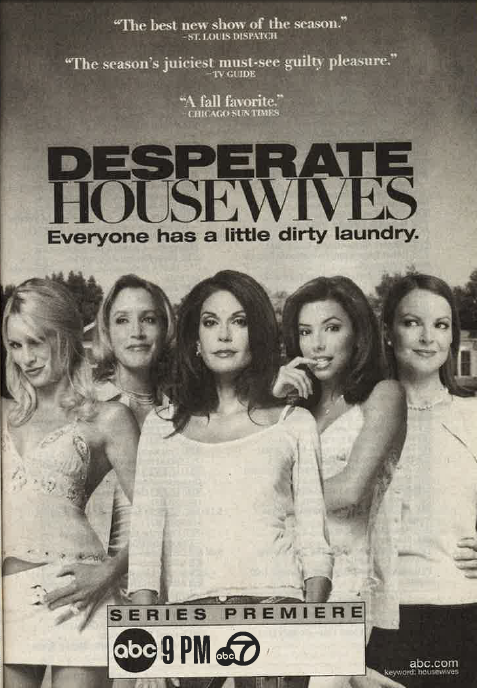Housewives 2004 premiere ad