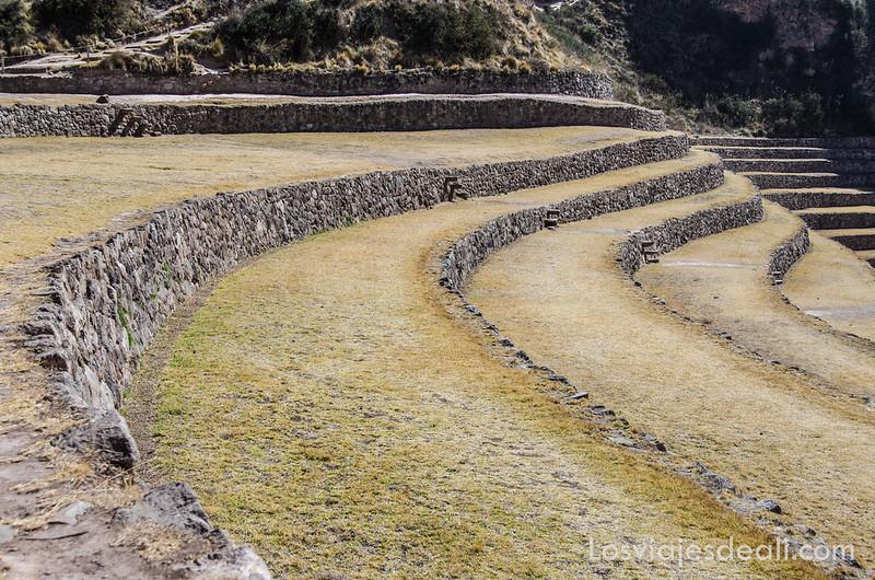 Moray en valle sagrado de los incas