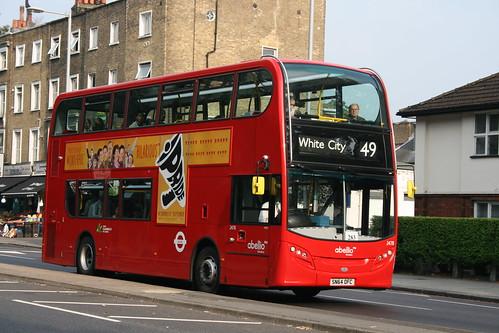Abellio London 2478 on Route 49, Kensington