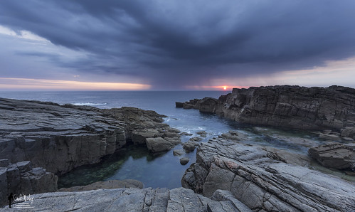 sunset sea mer seascape landscape roc coast côte paysage rocher coucherdesoleil iledyeu wildcoast côtesauvage