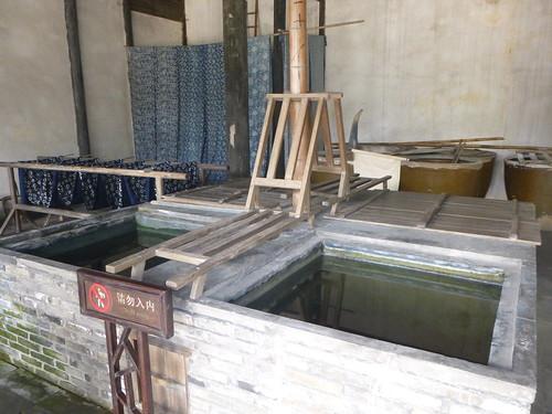 Zhejiang-Wuzhen-Atelier de teinture (3)