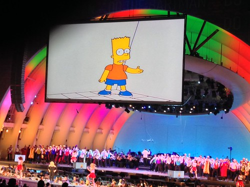 Simpsons Take The Bowl