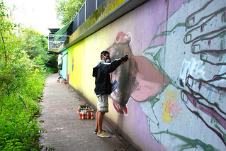 River Tales | Flussgeschichten | 2014 | event of urban art | Macs & Etnik | Giants