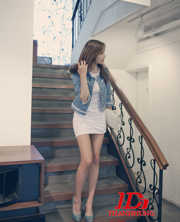 Áo khoác jeans/bò/denim nữ đẹp! Cách phối áo khoác jean 11