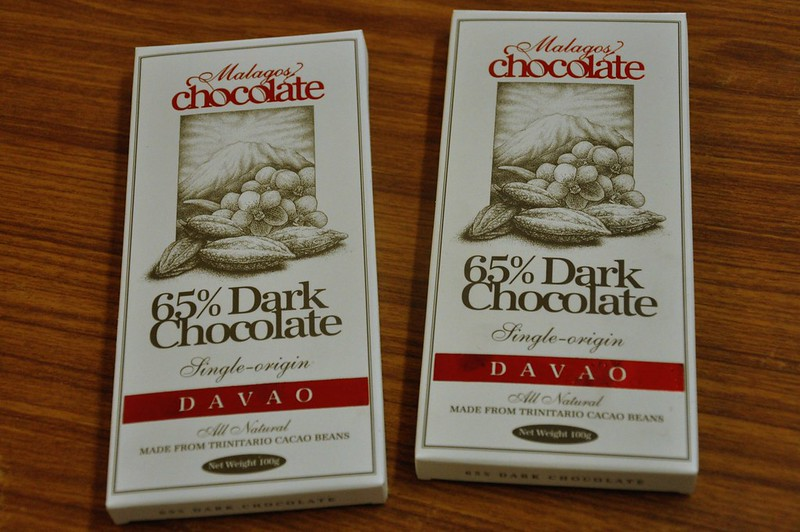 Malagos Dark Chocolates