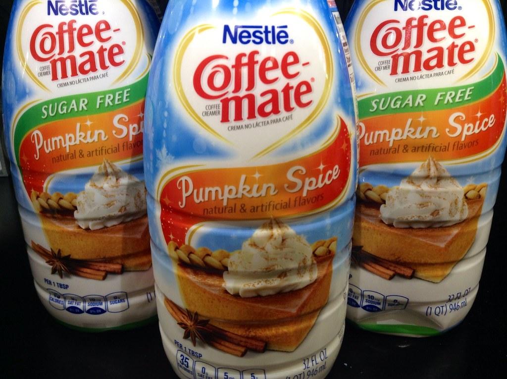 Pumpkin Spice, Coffee Mate